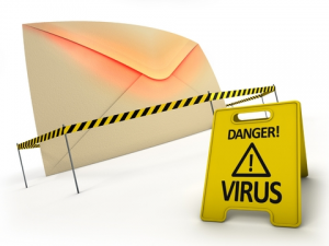 Multiplication de virus via mail